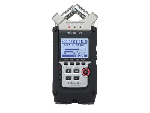 gravador áudio zoom h4n pr  digital handy recorder 4 canais.