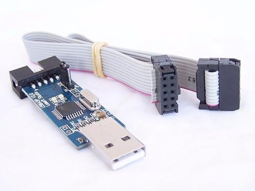 gravador avr usbasp usbisp atmel arduino programador atmega