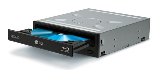 Gravador Blu-ray Lg Wh16ns40 3d Player Bdxl Sata Interno