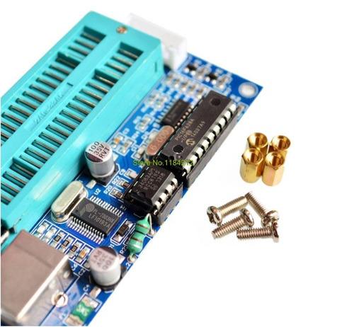 gravador + cabo usb + cabo icsp pic k150 soquete zif 40