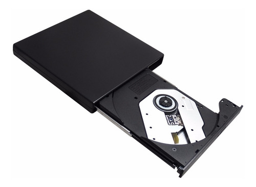 gravador cd / leitor dvd (não grava dvd) externo usb 2.0 nfe