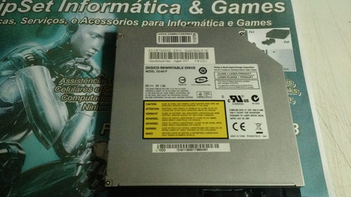 gravador cd/dvd ide p/notebook benq/philips