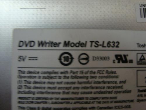 gravador de dvd ide ts-l632