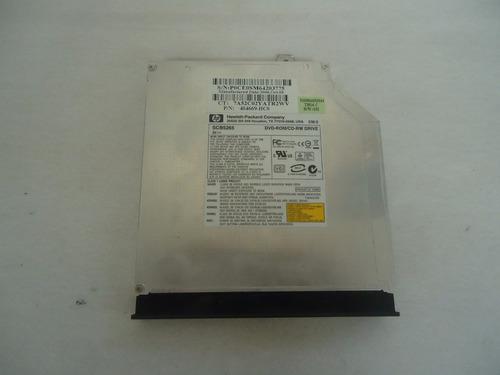 gravador de dvd notebook hp dv6120 mod.  scb5265 - usado