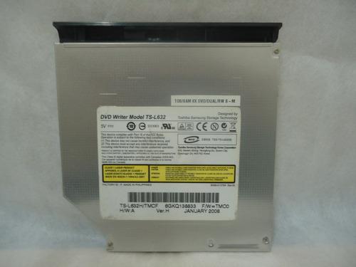 gravador de dvd notebook model: ts-l632