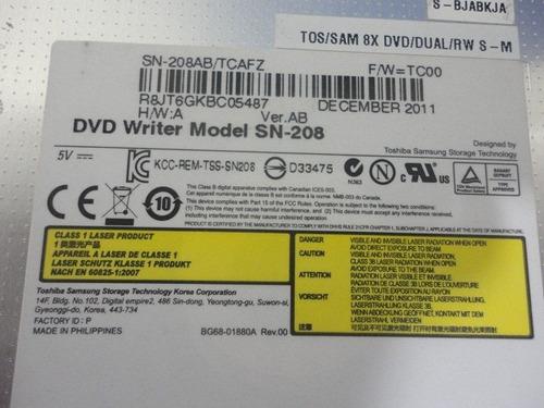 gravador de dvd p/ notebook itautec a7520