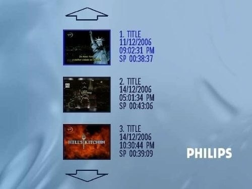 gravador de dvd philips dvdr3355 nacional / pal-m!