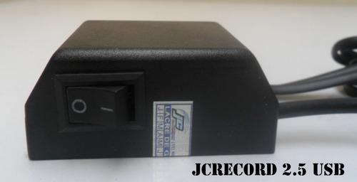 gravador de ligações usb - grava direto no hd