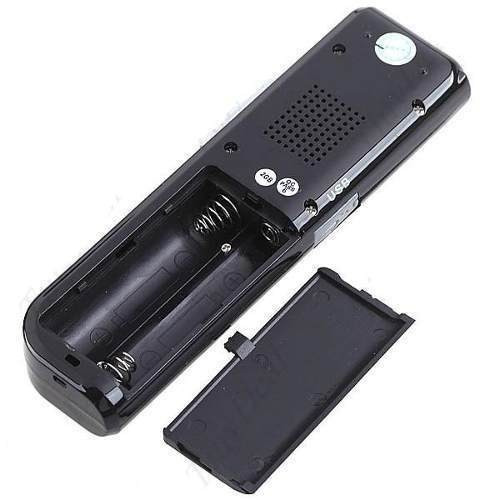 gravador de voz digital espião grava até 24 dias direto 8gb