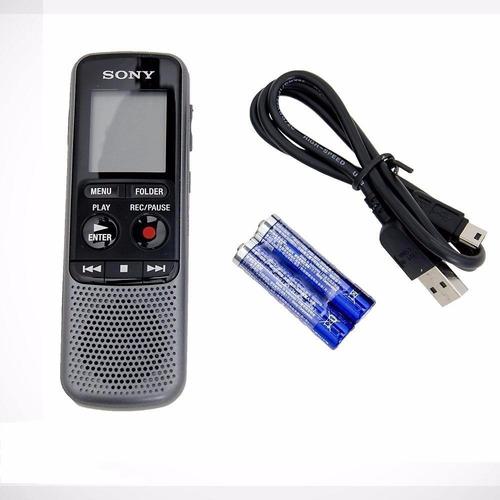 gravador de voz digital mono sony icd-px240