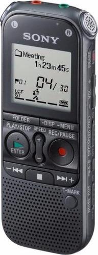 gravador de voz digital sony icd-px240 4gb