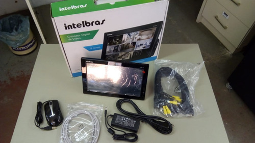 gravador digital 8 cn intelbras (usado apenas em showroom)