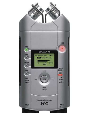 gravador digital portátil zoom handy recorder h4