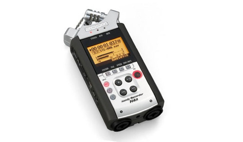 gravador digital portátil zoom handy recorder h4n original