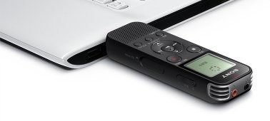 gravador digital voz usb sony icd-px470 expansivel 32gb 536h