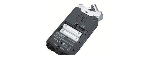 gravador digital zoom h4n sp handy recorder