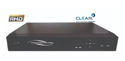 gravador dvr hvr 04 canais full hd penta hibrido 5x1 clear