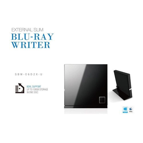 gravador e leitor blu-ray cd e dvd externo asus novidade nfe