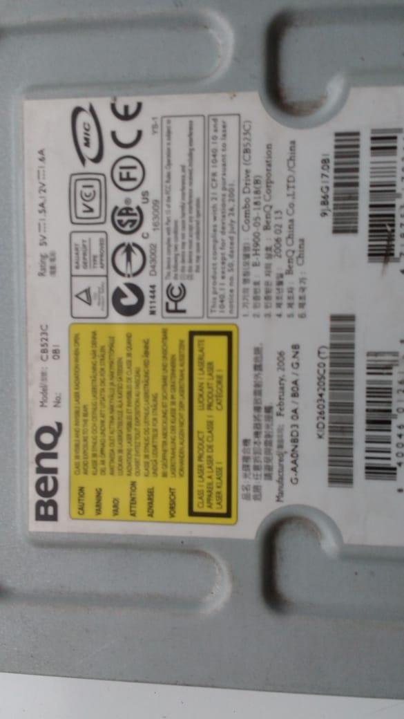 BENQ COMBO CB523C TREIBER WINDOWS XP
