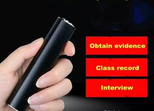 gravador grava mais de 385 horas audio alta definição