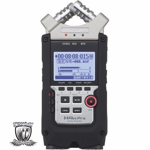 gravador h4n digital zoom h4n pro h4n  - preto