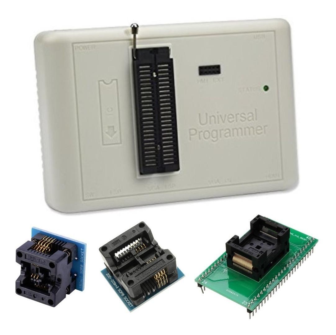 Gravador Memória Nand Flash Eprom Bios Rt809h + Adaptadores