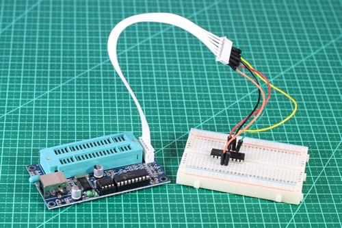 gravador pic - programador pic - zif - usb - k150