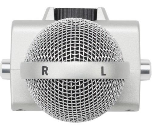 gravador portátil zoom h6 microf intercambiáveis 12x s/juros