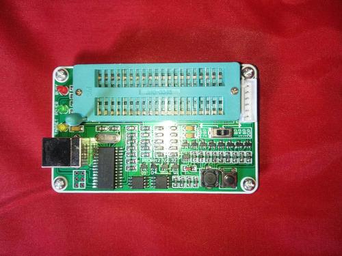 gravador programador de pic usb pickit2 soquete zif mplab