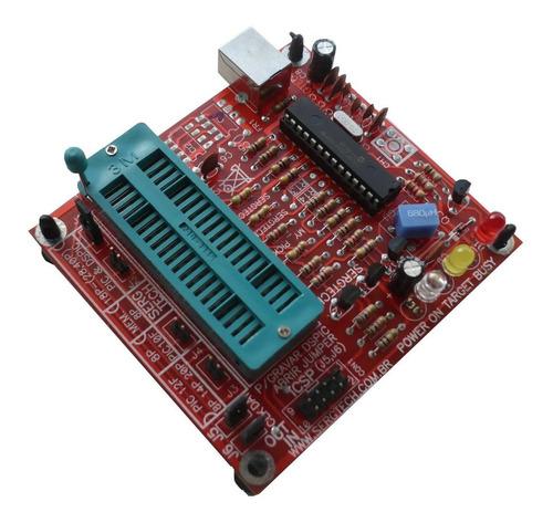 gravador programador usb pic pickit2 mplab zif nf