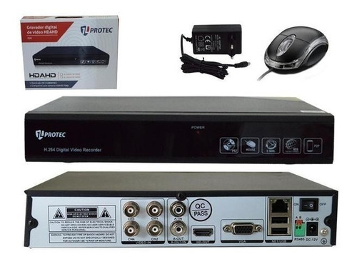gravador protec 4 canais