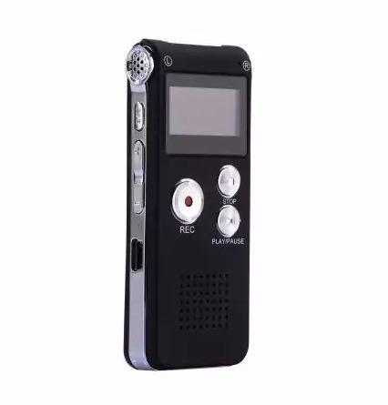 gravador sensor de voz espiao digital  profissional 8gb