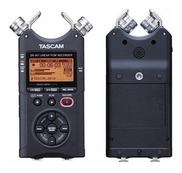 gravador tascam dr-40