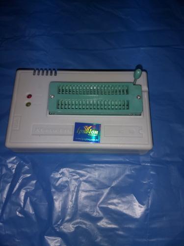 gravador tl866ii plus minipro soic eprom pic bios pinça.