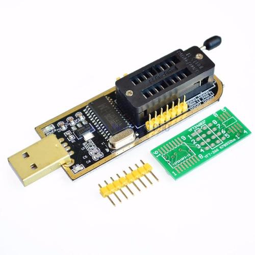 gravador usb eprom ch341a bios spi flash series 24xx/25xx