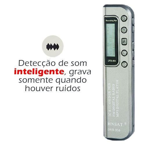 gravador voz espiao c sensor 2
