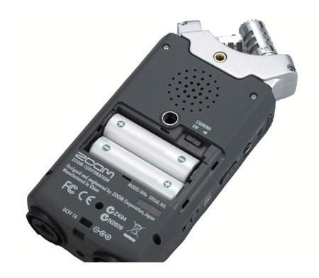 gravador zoom h4n