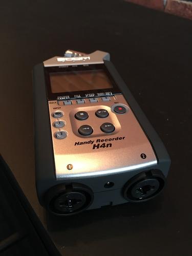 gravador zoom h4n com cartão sd 8gb. nunca usado. na caixa