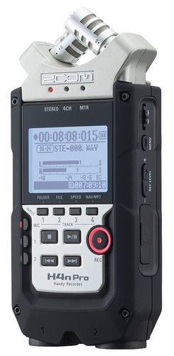 gravador zoom h4n pro handy recorder - revenda autorizada