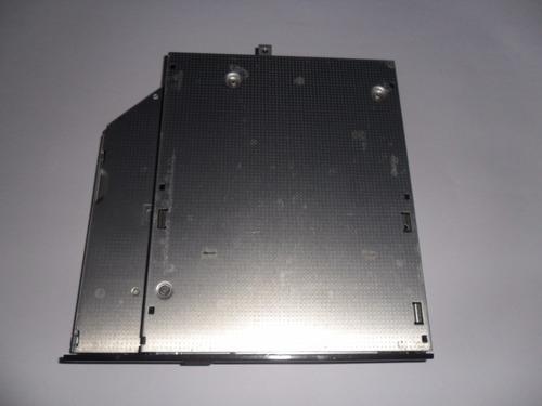 gravadora de dvd sata p/ notebook  frente reta