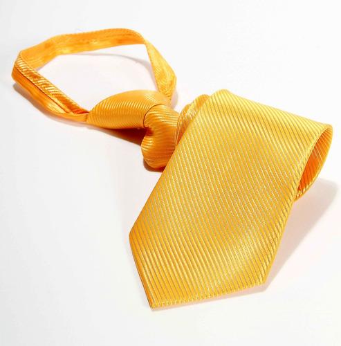 gravata amarela trabalhada para pastor formatura padrinhos