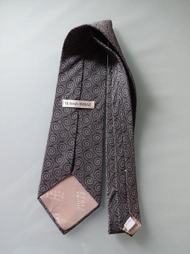 gravata  burma bibas 100 % seda pura  made in usa