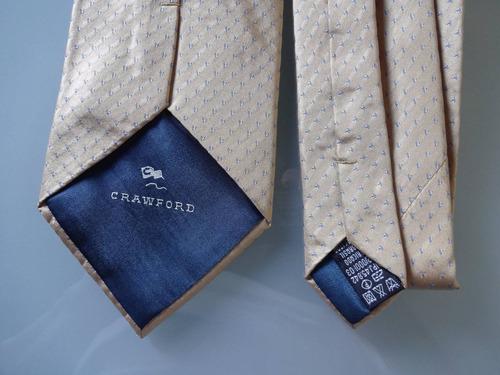 gravata crawford  100 % seda  pura italiana 1712