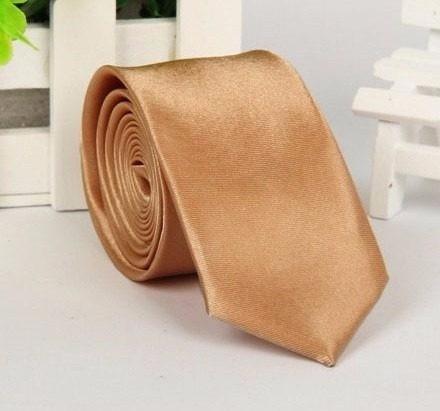 gravata dourada tradicional 7,0cm promoção, casamento