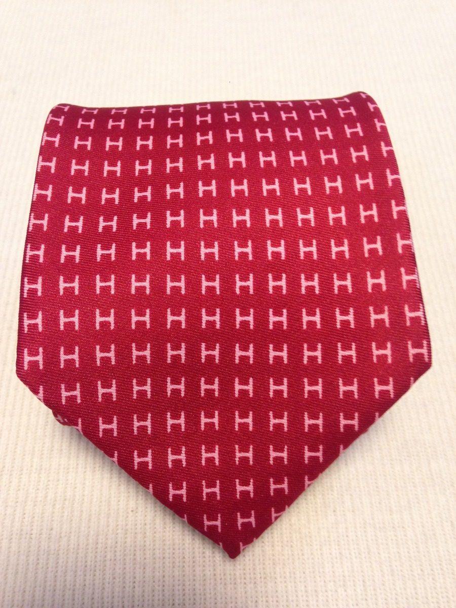 57c0b3ec55f gravata hermes paris vermelha hs. Carregando zoom.