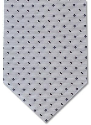 gravata jacquard poliéster cinza