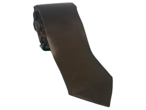 gravata lisa marfim, marrom escuro lilas verde exercito