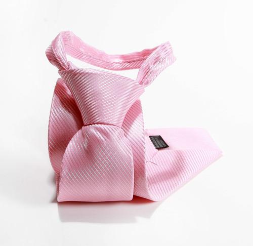 gravata rosa semi slim padrinhos casamentos