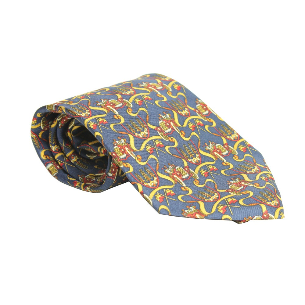 gravata salvatore ferragamo carrinhos azul marinho salvatore. Carregando  zoom. e8498a3dab