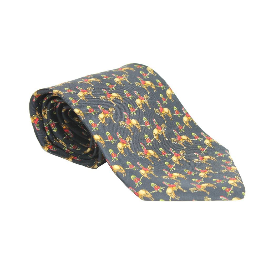 c568eb9997e80 gravata salvatore ferragamo cavalinhos preta salvatore ferra. Carregando  zoom.